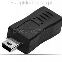Adapter micro USB na Mini USB